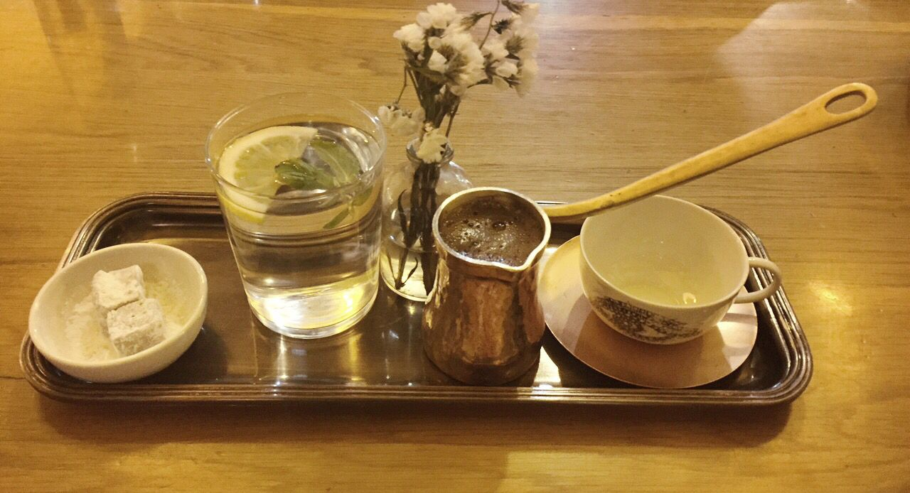 We love Turkish coffee in Istanbul. Cafe Fes, Grand Bazaar. www.naypalad.com