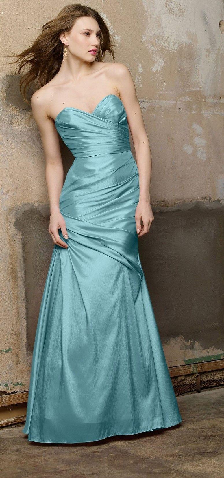 Wtoo Style 177 Bridesmaid Dress in Aquamarine | Bridesmaid Fun <3 ...
