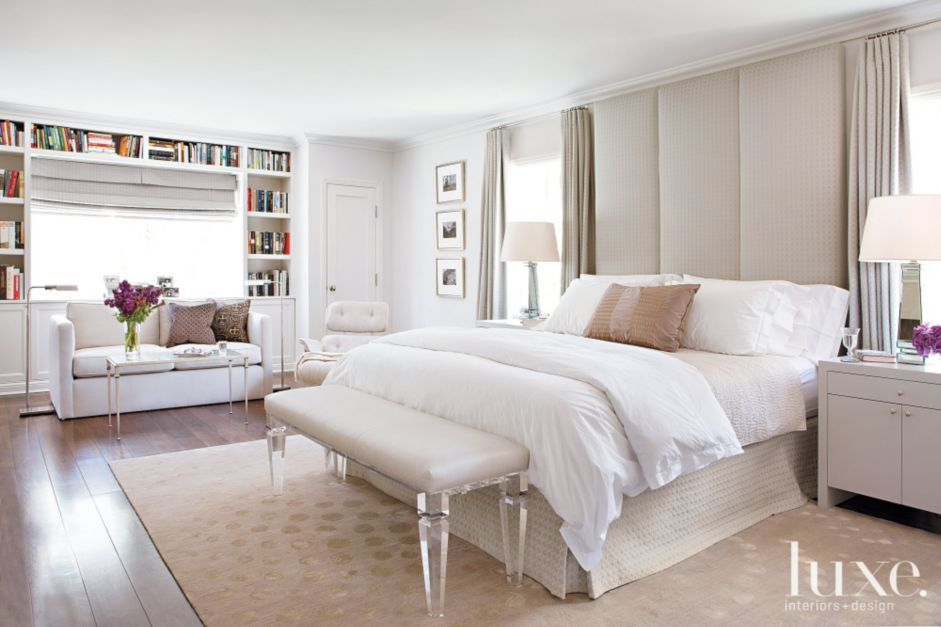 In The Master Bedroom, Berg Created A Cocoon Like Feeling With A Floor