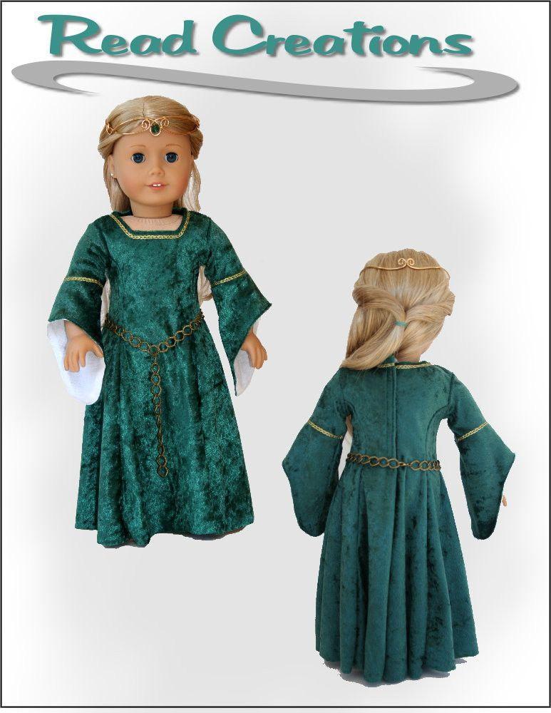 Medieval Dress 18\
