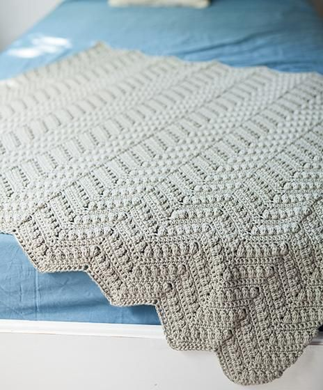 Knit Picks: Willow Baby Afghan - Free crochet pattern to download by ...