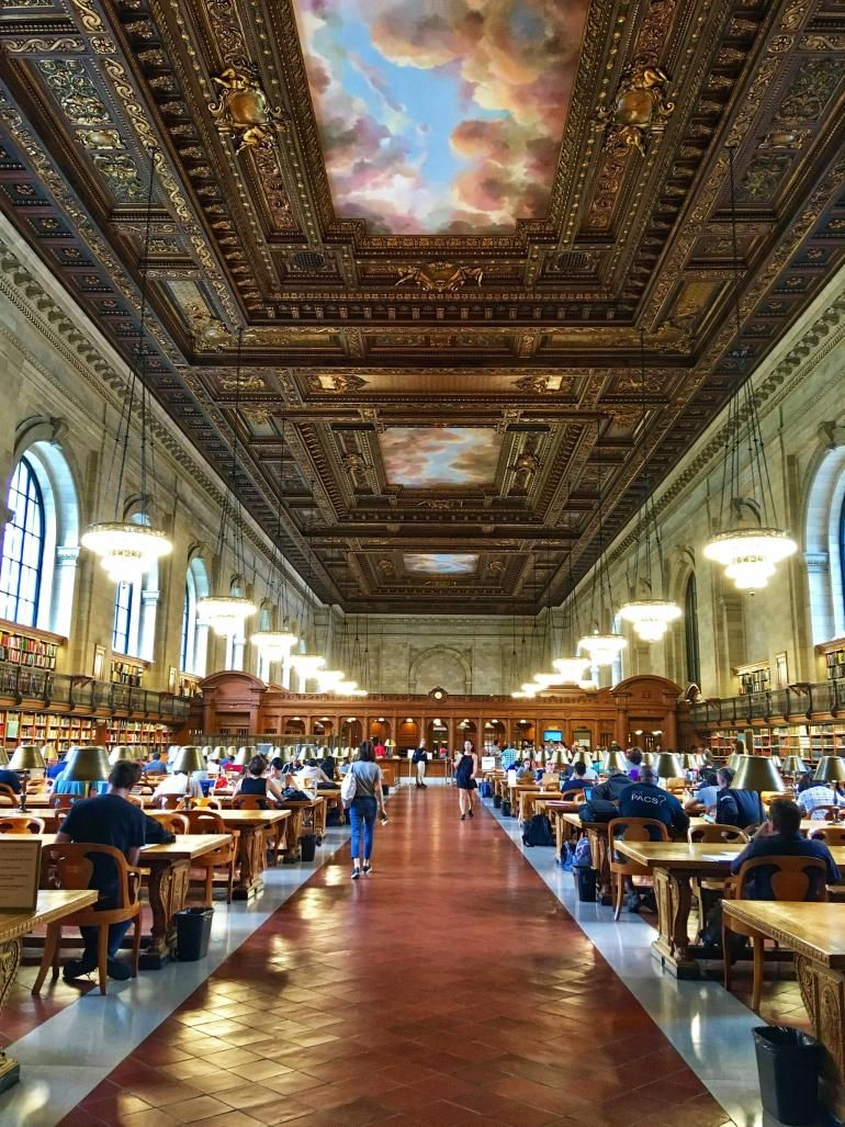 Hang out in these instagrammable new york public libraries