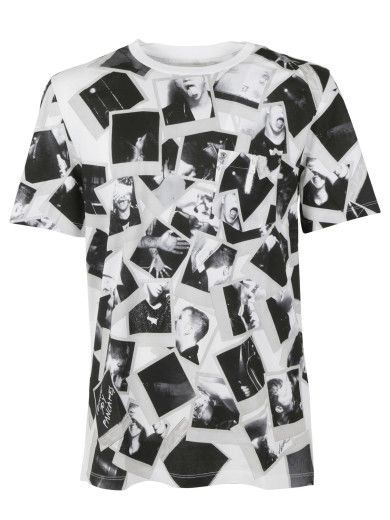 MAISON MARGIELA Maison Margiela Photo Print T-Shirt. #maisonmargiela #cloth #topwear
