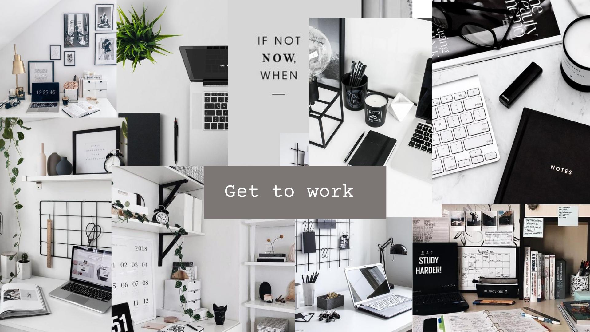 Productivity Wallpaper In 2021 Aesthetic Desktop Wallpaper Cute Laptop Wallpaper Desktop Wallpaper Organizer