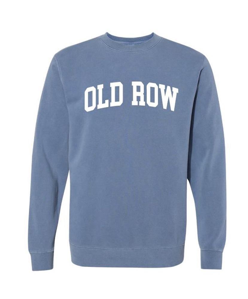 Old Row Pigment Dyed Crewneck Sweatshirt Sweatshirts Old Row Crew Neck Sweatshirt [ 1000 x 829 Pixel ]
