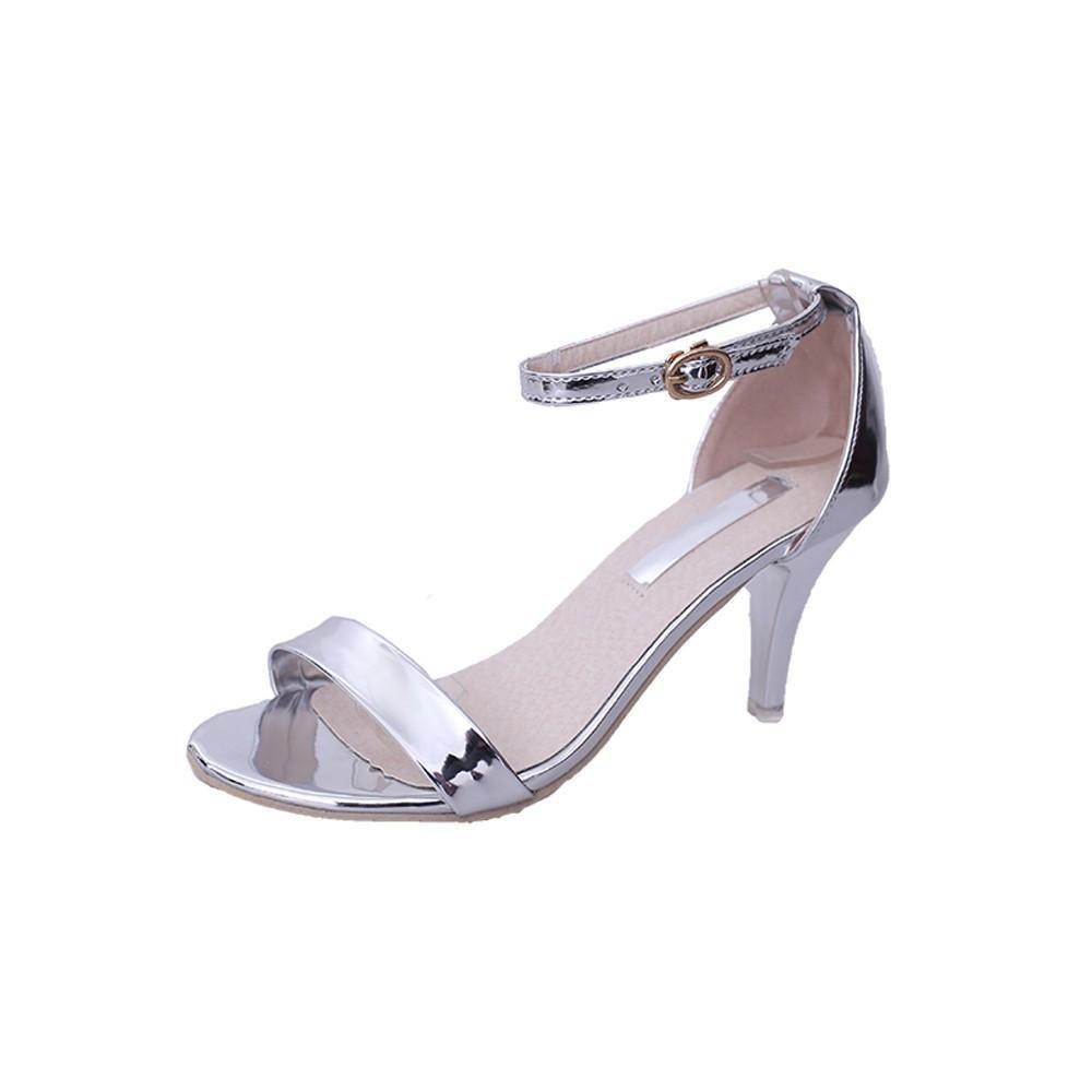 Fashion Women Ladies Summer Buckle Sandals High Heels