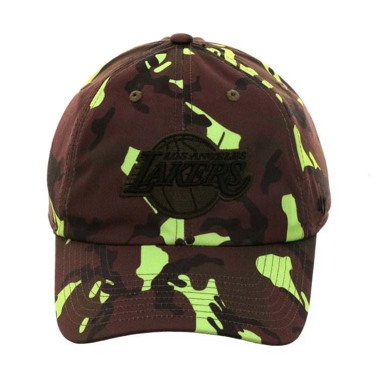first rate 5c820 2ef49 47 Brand Los Angeles Lakers Camouflage Neon Adjustable Hat - Camouflage,    26.00