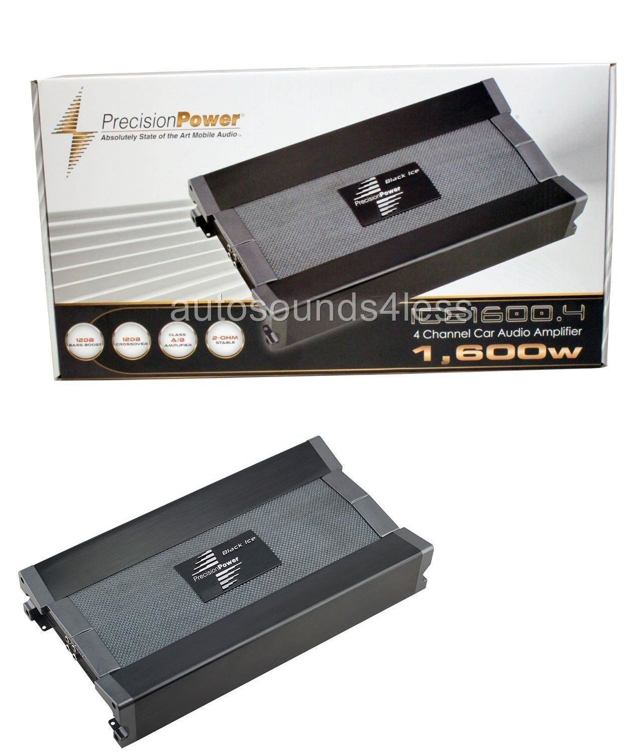 car amplifiers precision power ppi ice1600 4 1600 watt 4 channel car amplifiers precision power ppi ice1600 4 1600 watt 4 channel class ab