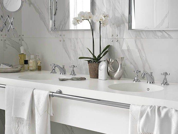 Wasserhahn badezimmer ~ Design handwaschbecken badezimmer modern minimalistisch weiss