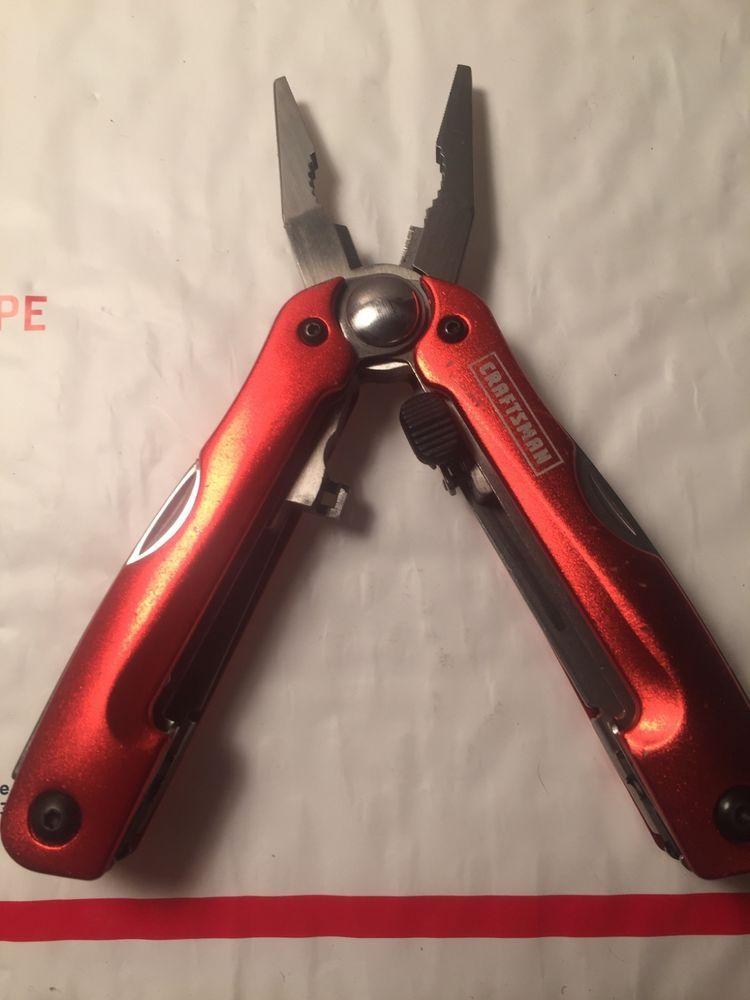 Craftsman Multi Tool 35721 25 Knives Tools Swiss