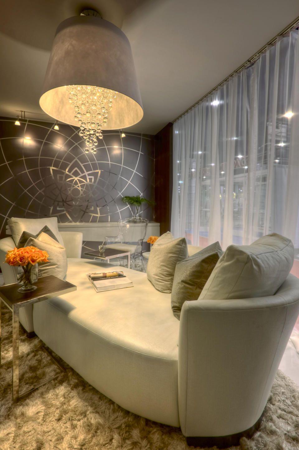 Contemporary suite experience living room design inspiration