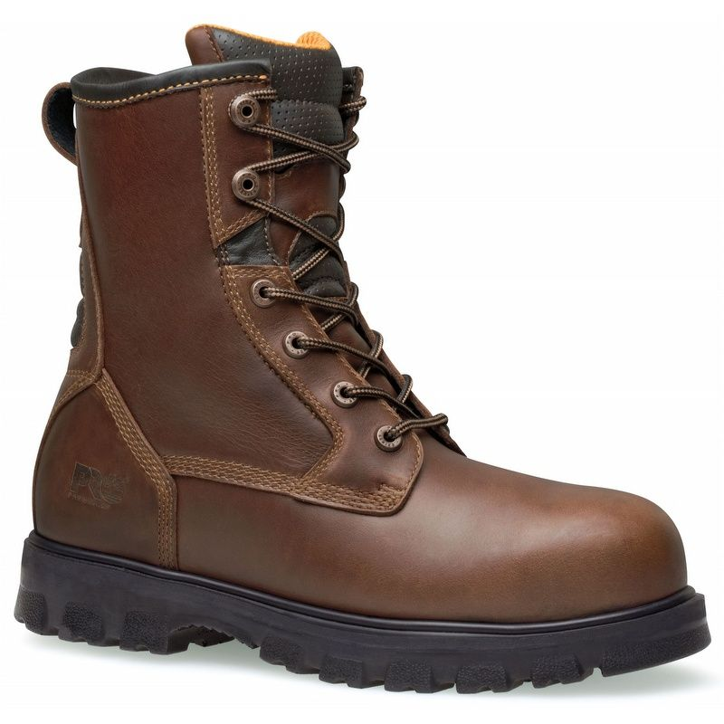 a08107db712 Timberland Pro Boomtown 8-inch Waterproof Safety Toe Boots   8
