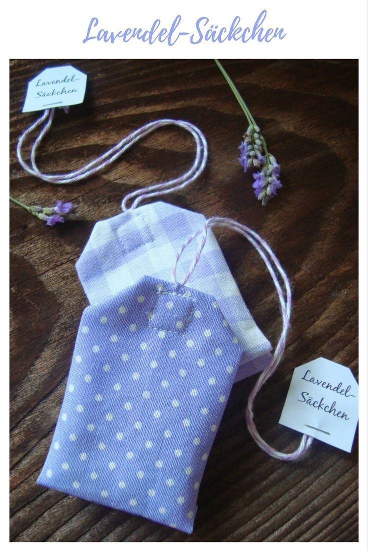 Photo of 30 great sewing ideas for your fabric remnants | DIY mode – tea bags, lavender bags …