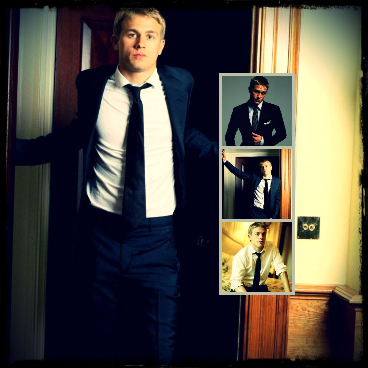 Young Charlie Hannum - now cast as Christian Grey