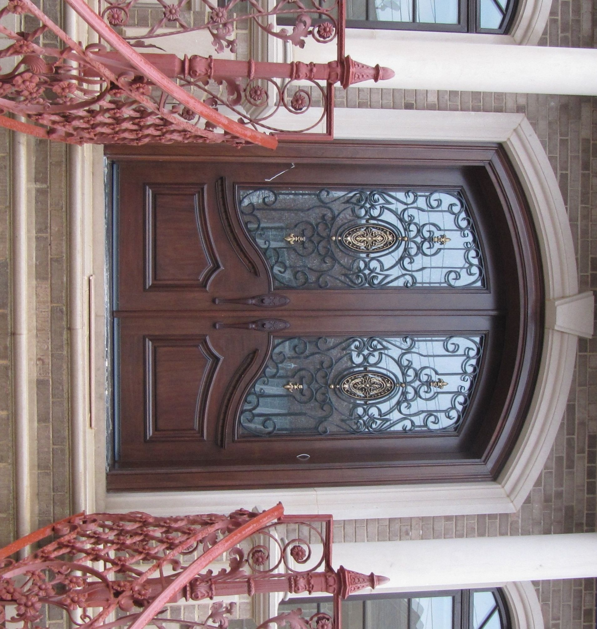 Grand Front Doors For Homes Grand Doors Makes Grand Entrance in