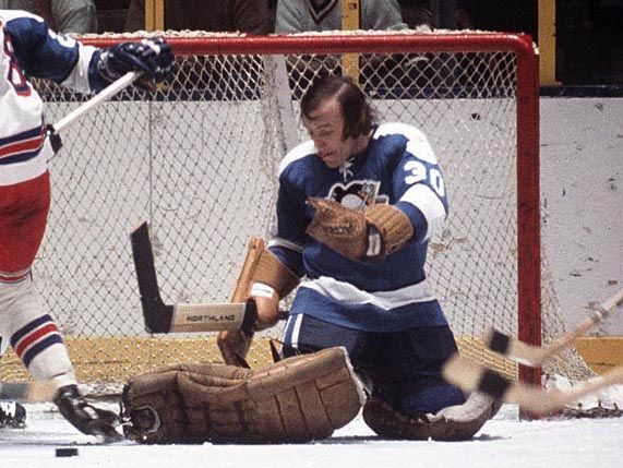 Andy Brown Pittsburgh Penguins The Last Maskless Goalie