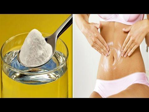 Bicarbonato para adelgazar (grasa del abdomen o estomago inflamado)