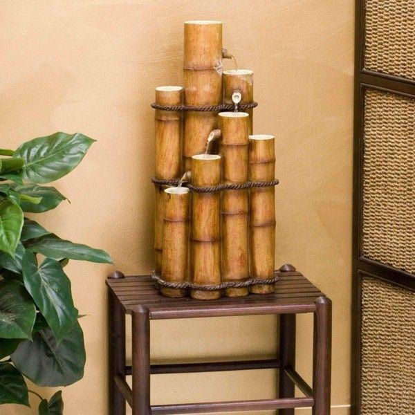 Mobilier en bambou bambou bambou d co japonaise de fontaine bambous pinterest bambou - Fontaine en bambou ...