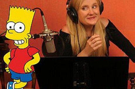 Nancy Cartwright, Voice of Bart Simpson.