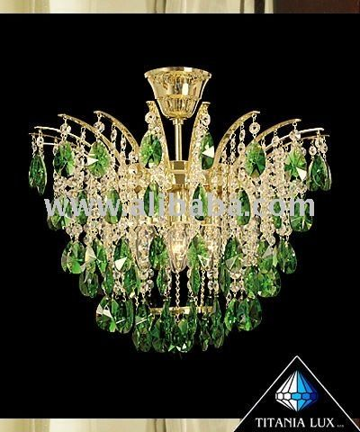 Bohemia crystal glass chandelier -Chandelier crown | Czhech ...