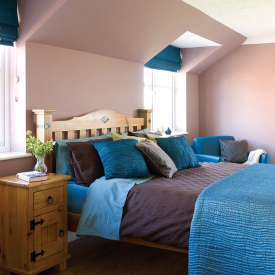 Bedroom Paints Design Alluring Bedroom Colour Schemes  Bedroom Neutral Neutral Walls And Teal Design Inspiration