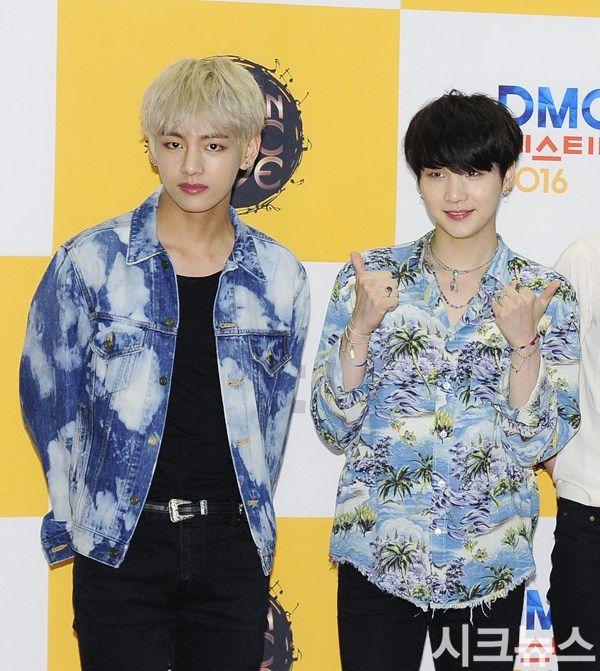 Picture Media Bts At Mbc Korean Music Wave Dmc Festival Photowall 161008 Music Waves Korean Music Korean