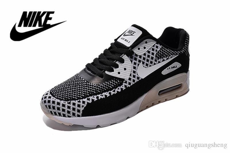 a552be4b814e ... release date nike air max 90 flyknit all black women running shoes 2015  leopard nike maxes