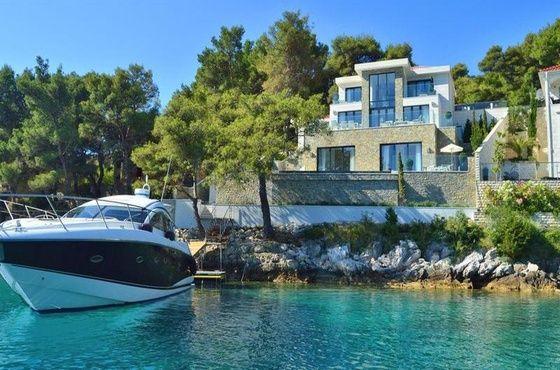 Location Vacances Villa Pieds dans l'eau à Selca en