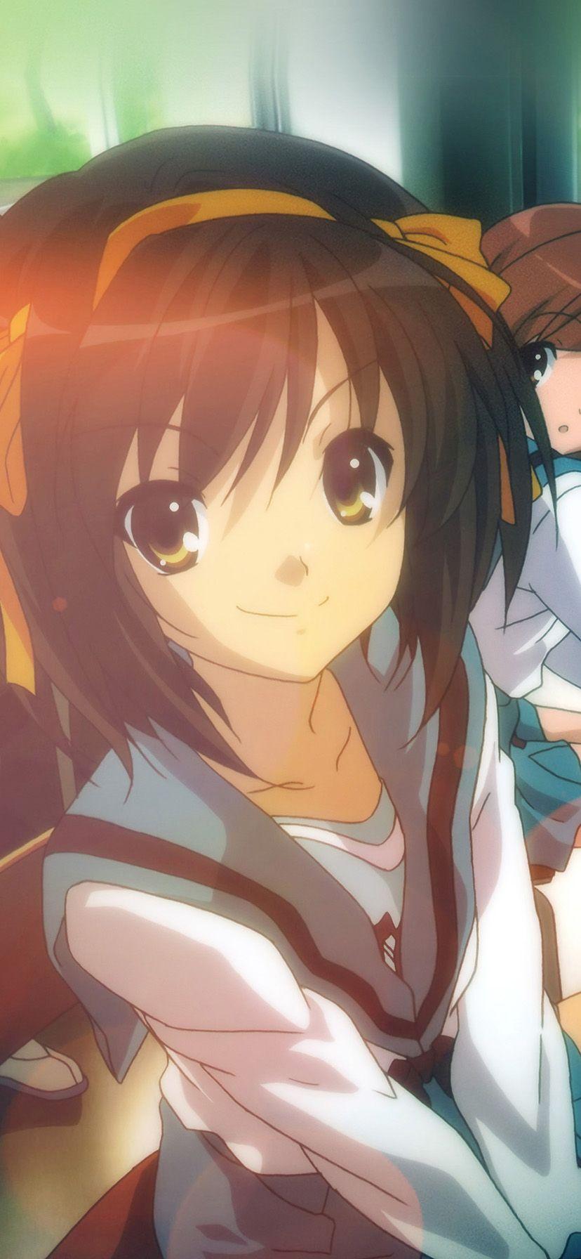 Iphone Xr Wallpaper Hd Suzumiya Haruhi No Yuuutsu Anime Art Flare