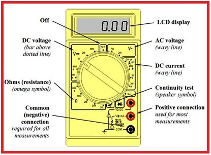 How To Use A Digital Multimeter Electronica In 2018 Pinterest