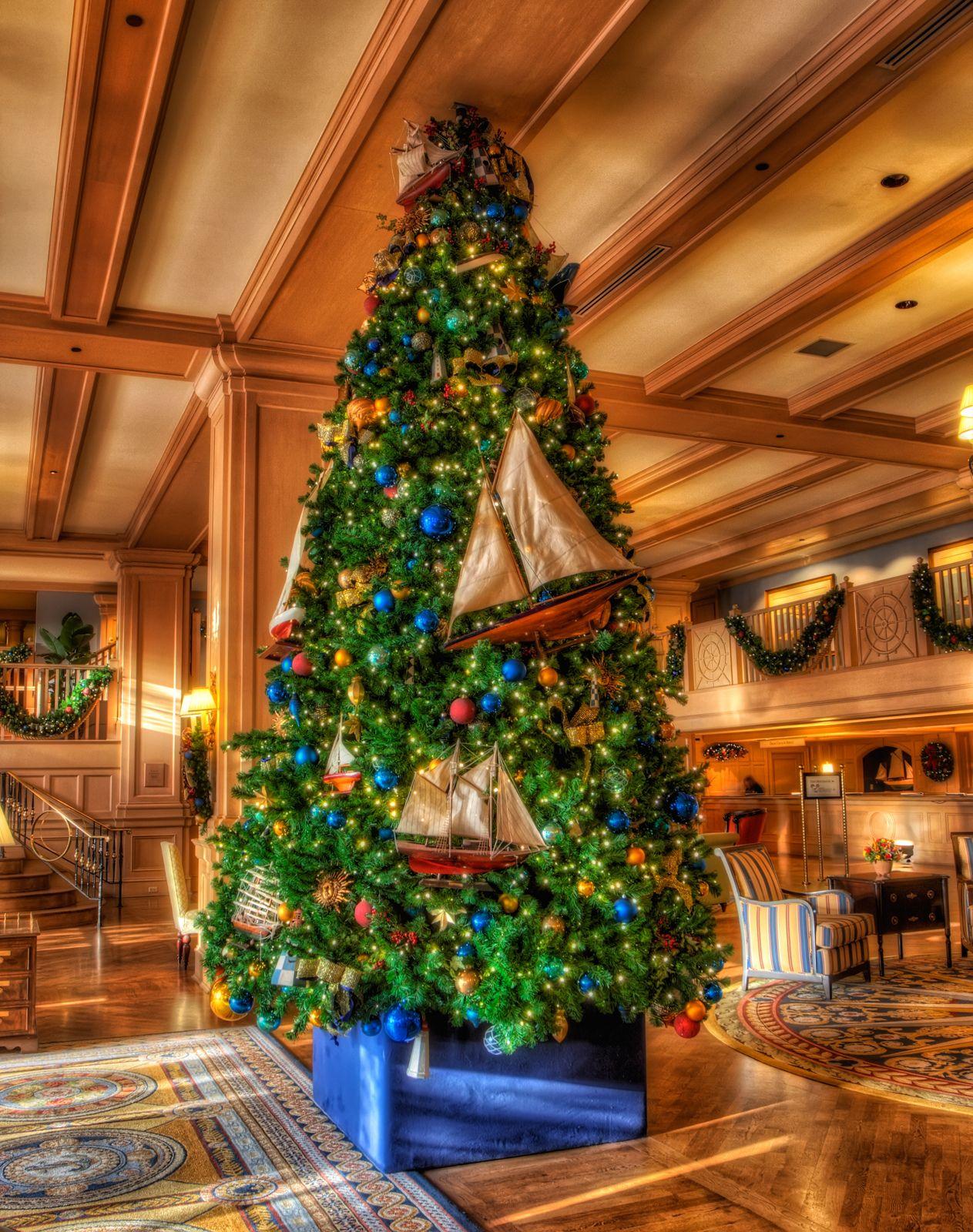 Yacht Club Christmas Tree Disney Very Merry Christmas Disney
