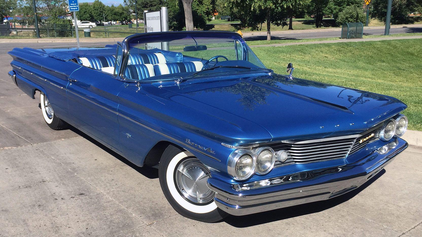 1960 Pontiac Bonneville Convertible presented as Lot S66 at Dallas ...