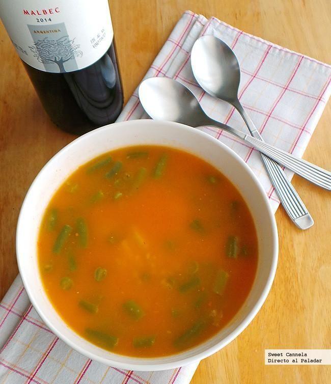 Sopa de jitomate y arroz. Con fotos del paso a paso y consejos de degustación. Una excelente primer plato con el sabor de...