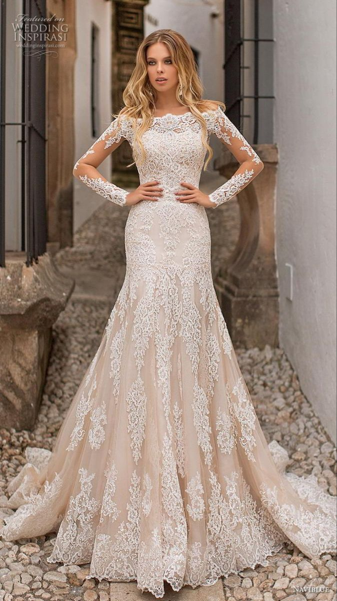 """Naviblue 2019 Wedding Dresses """"Dolly"""" Collection"""