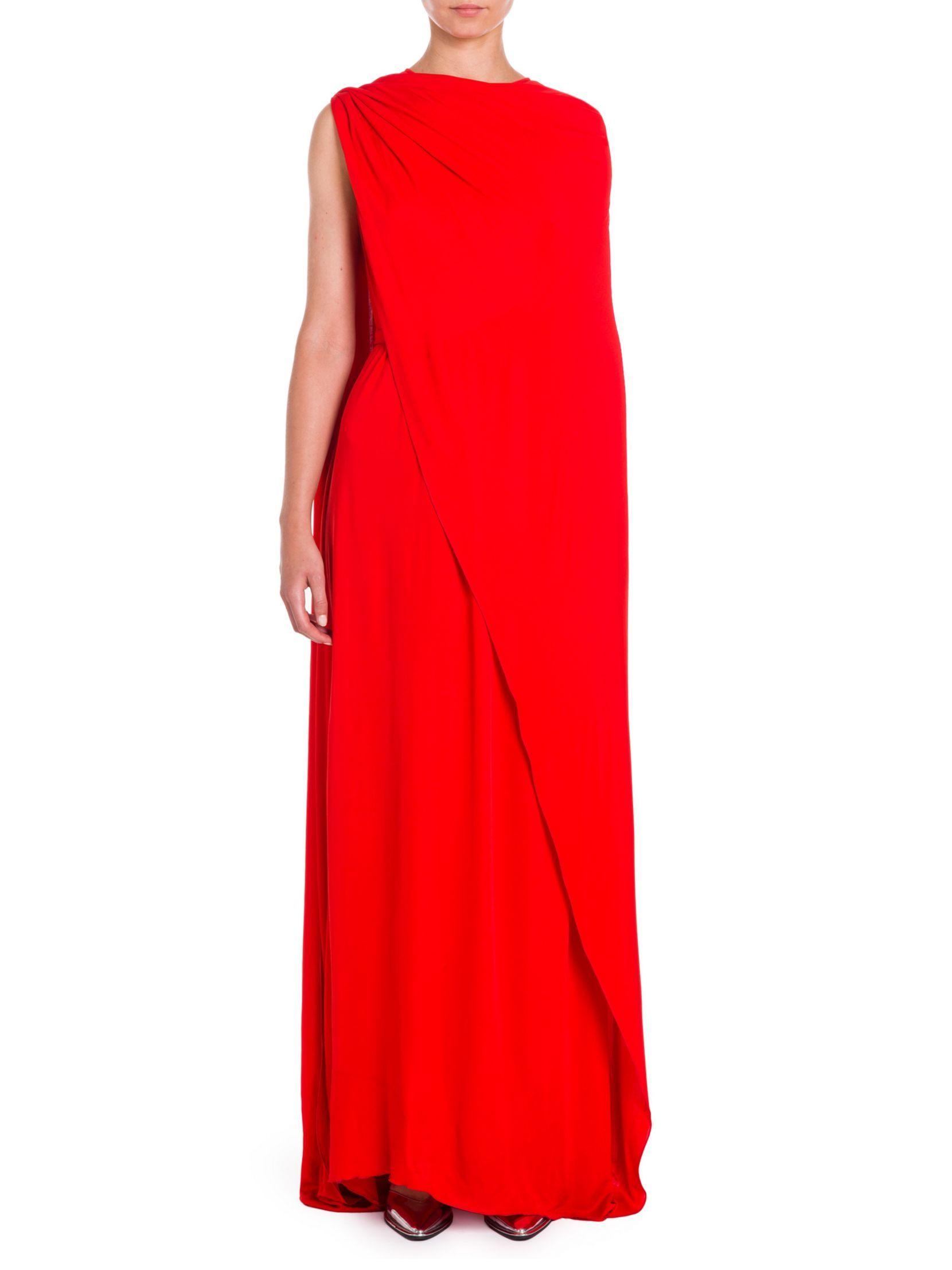 Stella mccartney convertible cape gown dresses pinterest