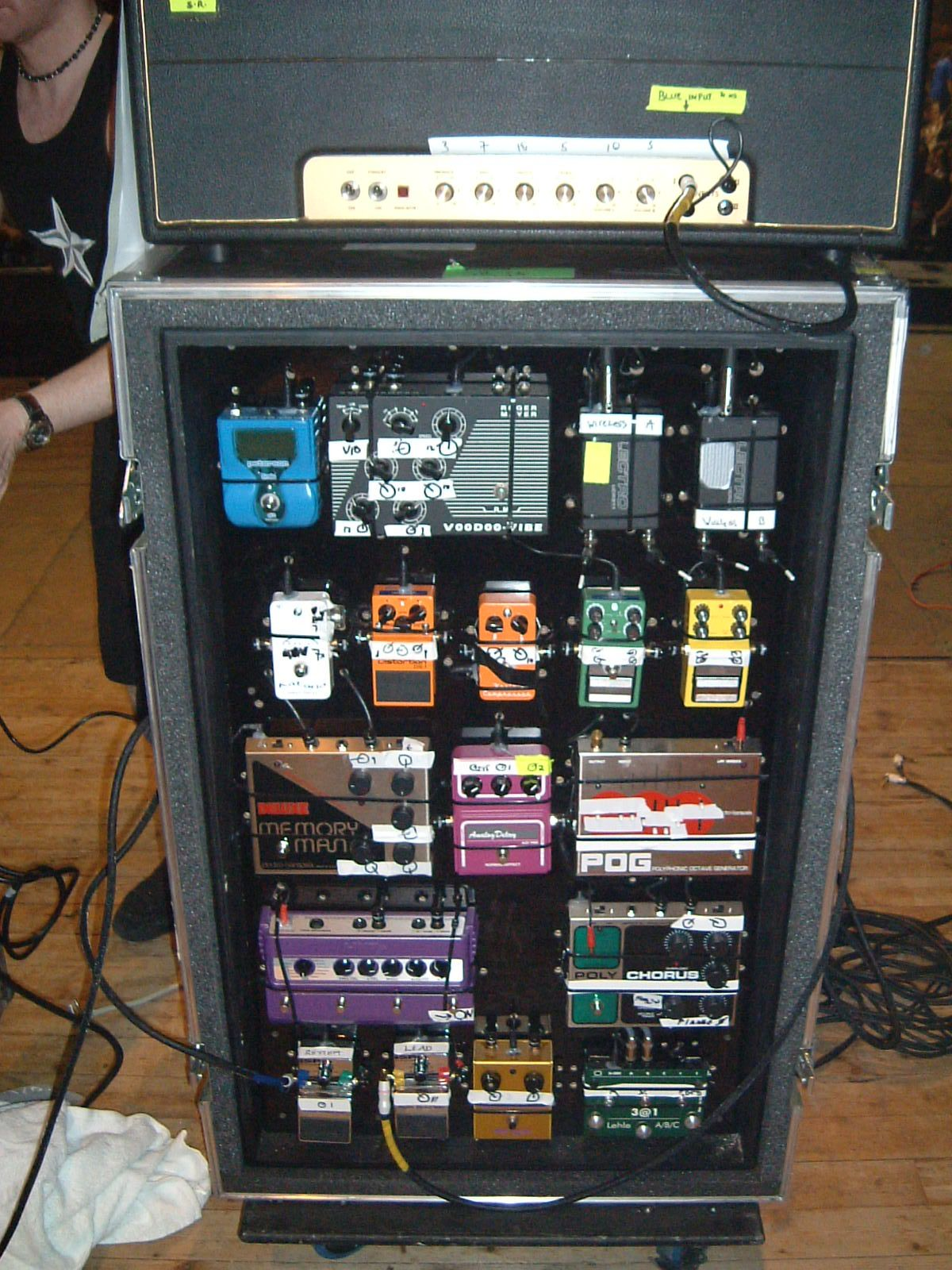 anthrax with pedal setting tape it 39 s usually loud pinterest guitar rig guitar and guitar. Black Bedroom Furniture Sets. Home Design Ideas