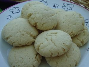 Hungarian sour cream cookies are simple but rich and tender