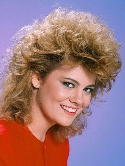 80Er Jahre Frisur Frauen Frisuren Pinterest