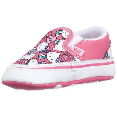 Vans VN-0QFB66X Youth Classic Slip On Hello Kitty Azalea Pink True white  Shoe   44.99 ! Buy now at GetShoes.ca cda293360