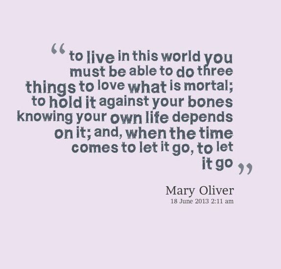 Mary Oliver Love Quotes: Awesome Quotes