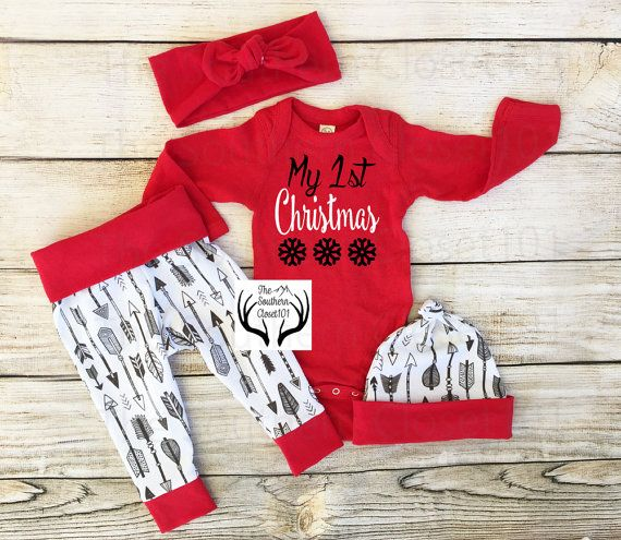 15169b62e Baby Christmas Outfit