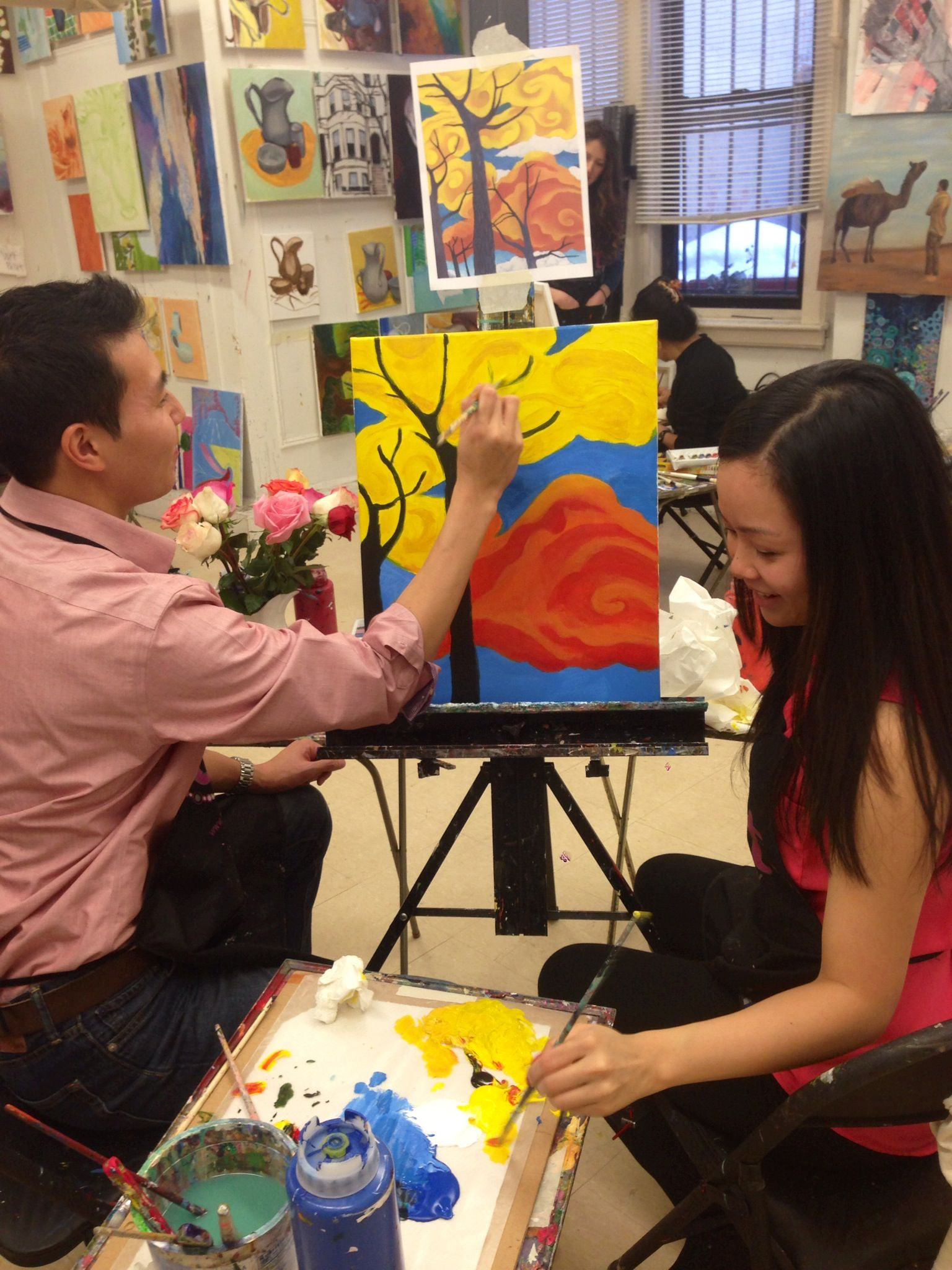 Valentine S Day Art Class Date Night Love Vday Best Art