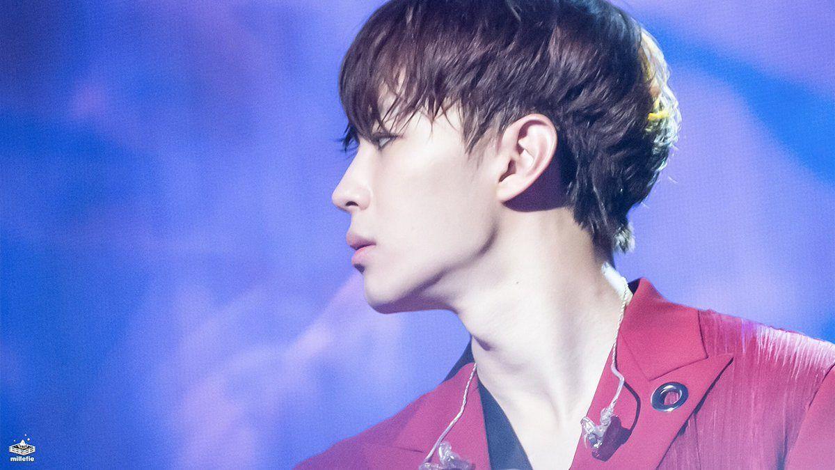 Vixx Hongbin Side Profile Idol Vixx Hongbin