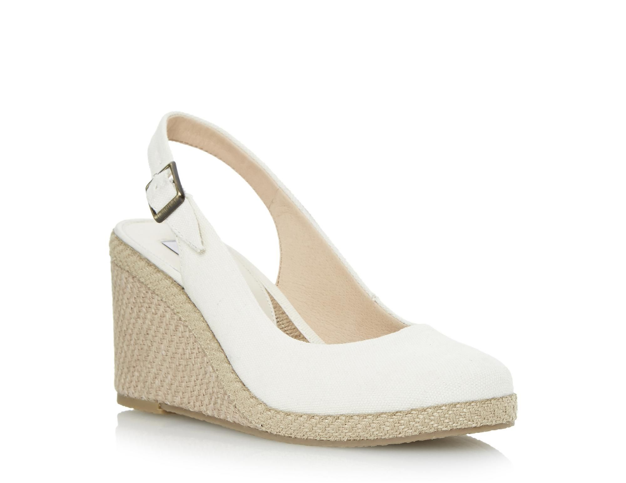 716afd68cfe This classic espadrille wedge sandal is a summer must have staple style.  Features a closed toe