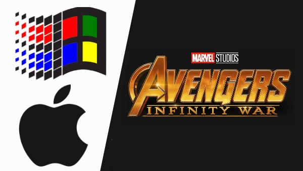 Popular Brand Logos Have Humorously Become Avengers Infinity War Memes Infinity War Memes Brand Logo Infinity War