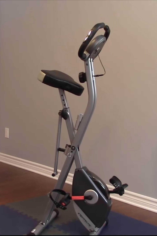 Stationary bike vs treadmill   Bicycle workout, Folding ...