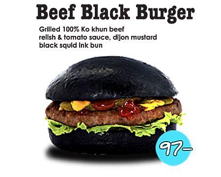 Casper Burger : Beef : Beef Black Burger