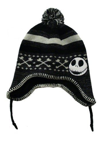 Nightmare Before Christmas Jack Skellington Beanie Hat Concept  www.amazon.com a98d61935e51