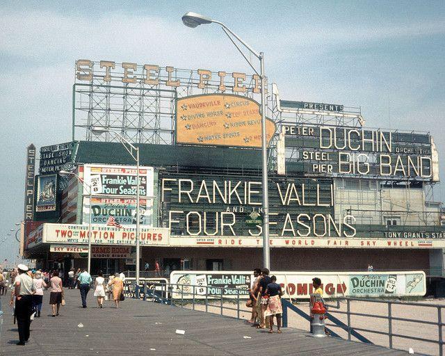 Atlantic City Nj 1970s Atlantic City Boardwalk Atlantic City Frankie Valli