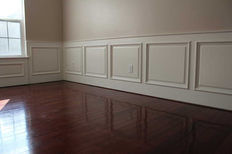 wainscoting home depot installation http
